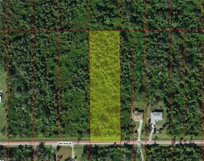 Collier County Residential Lots & Land For Sale: 3625 24th Ave SE