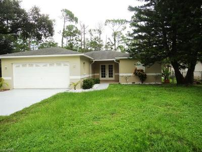 Olde Naples Single Family Home For Sale: 530 7th St SW