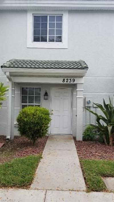 Fort Myers Condo/Townhouse For Sale: 8239 Pacific Beach Dr