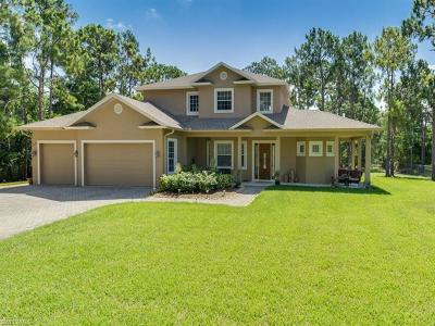 Naples Single Family Home For Sale: 1015 San Marcos Blvd