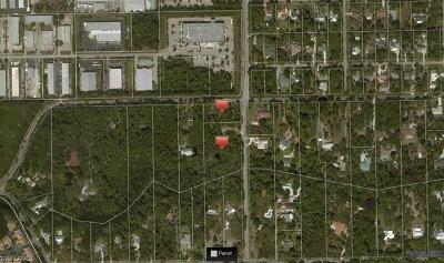 Naples Residential Lots & Land For Sale: 4000 Gail Blvd