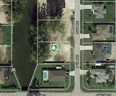 Lee County Residential Lots & Land For Sale: 2542 SW 4th Pl