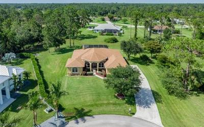 North Fort Myers Single Family Home For Sale: 18397 Hunters Glen Rd