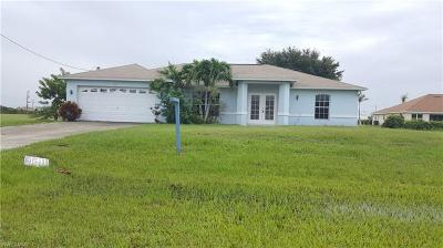 Collier County, Lee County Single Family Home For Sale: 217 NW 27th Pl