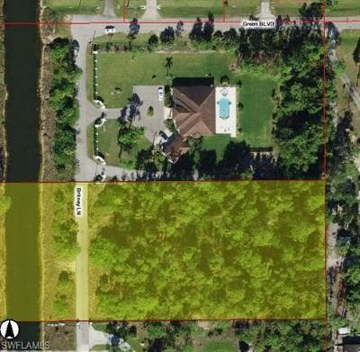 Naples Residential Lots & Land For Sale: 6270 Britney Ln