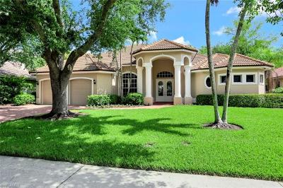 Naples Single Family Home For Sale: 6845 Wellington Dr