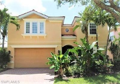 Naples Single Family Home For Sale: 5738 Lago Villaggio Way