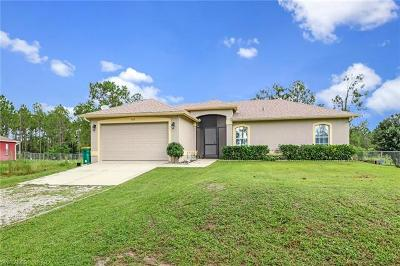 Golden Gate Estates Single Family Home For Sale: 4670 40th St NE