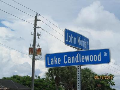 Fort Myers Residential Lots & Land For Sale: 15930 Lake Candlewood Dr