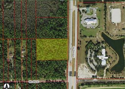 Collier County Residential Lots & Land For Sale: Immokalee Rd