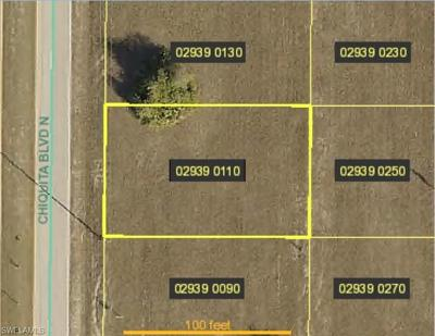 Cape Coral Residential Lots & Land For Sale: 1721 Chiquita Blvd N
