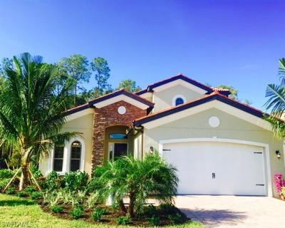 Naples Single Family Home For Sale: 16396 Aberdeen Way