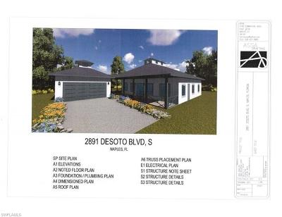 Collier County Residential Lots & Land For Sale: 2891 Desoto Blvd S