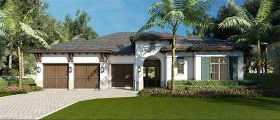 Naples Single Family Home For Sale: 16727 Enclave Cir