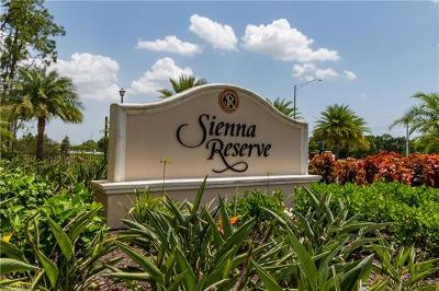 Naples Single Family Home For Sale: 14693 Reserve Ln