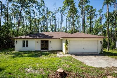 Naples Single Family Home For Sale: 2760 Golden Gate Blvd W