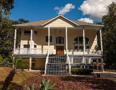 Crawfordville Single Family Home For Sale: 1 Palmetto