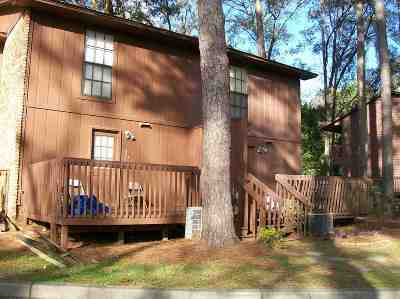 Tallahassee FL Condo/Townhouse Back On Market: $78,000