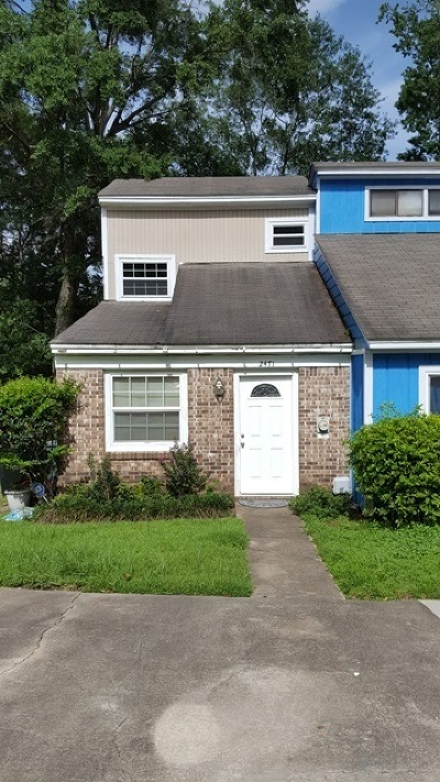 tallahassee Condo/Townhouse For Sale: 2471 Talco Hills Dr Ste A
