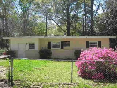 tallahassee Single Family Home For Sale: 1631 McCaskill Avenue