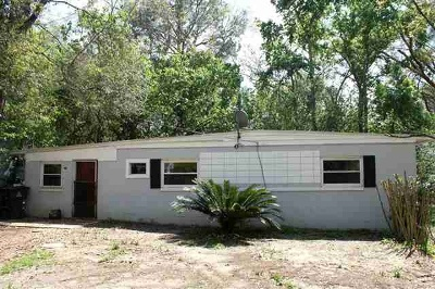 tallahassee Single Family Home For Sale: 1627 McCaskill