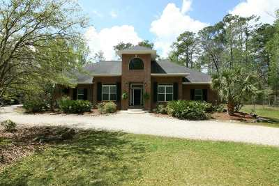 Crawfordville Single Family Home For Sale: 242 Hunters