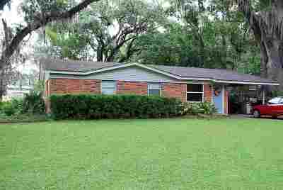 tallahassee Single Family Home For Sale: 2412 Oxford Road