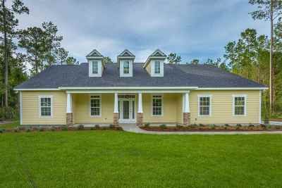 Crawfordville Single Family Home For Sale: 603 Parkside Circle