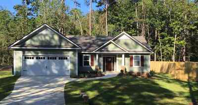 tallahassee Single Family Home For Sale: 3468 Cedarwood Trl