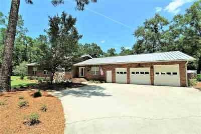 Crawfordville Single Family Home For Sale: 19 Frank Jones Road