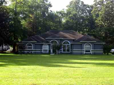 Crawfordville Single Family Home For Sale: 1217 Dr Martin Luther King Jr
