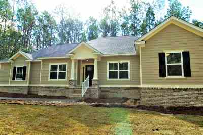 Crawfordville Single Family Home For Sale: Lot 73 Marigold Drive