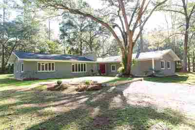 tallahassee Single Family Home For Sale: 7770 Skipper