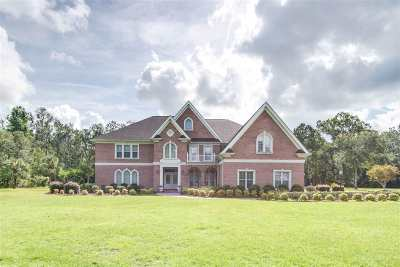 Crawfordville Single Family Home For Sale: 1687 Woodville Hwy
