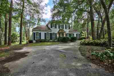 Tallahassee Single Family Home For Sale: 7008 McBride