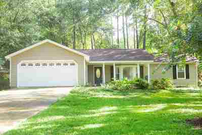 Killearn Lakes Single Family Home Contingent: 3504 Larkspur