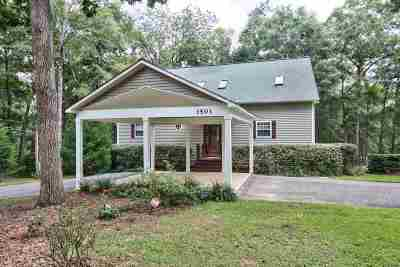 Tallahassee Single Family Home For Sale: 3501 Kimmer Rowe