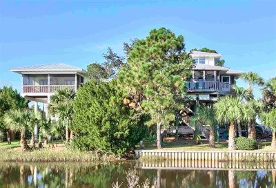 Crawfordville Single Family Home For Sale: 9 Creek