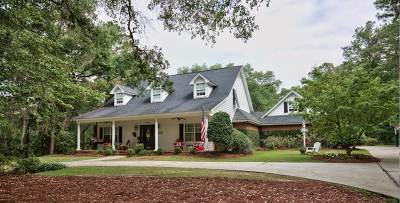 Tallahassee Single Family Home For Sale: 7833 McClure Dr