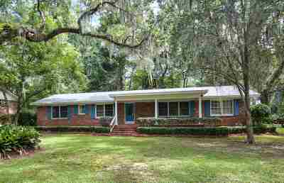 Tallahassee Single Family Home For Sale: 1210 Waverly Road