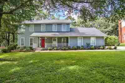 Tallahassee Single Family Home For Sale: 5413 Easton Pointe Way
