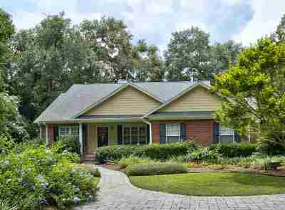 Tallahassee Single Family Home New: 4082 Roweling Oaks