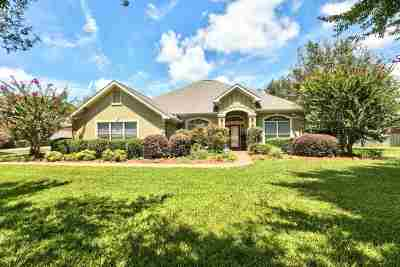Tallahassee Single Family Home For Sale: 4562 Hillwood