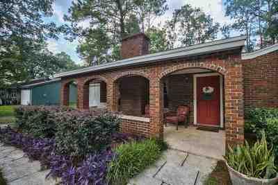 Killearn Acres Single Family Home Back On Market: 6800 Hill Gail