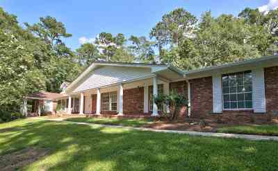 Tallahassee Single Family Home For Sale: 3385 Lakeshore
