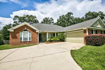 tallahassee Single Family Home For Sale: 1116 Stoney Creek