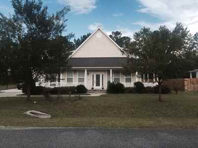 Crawfordville Single Family Home For Sale: 14 Mallard Pond