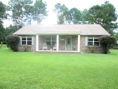 tallahassee Single Family Home For Sale: 19450 Bloxham Cutoff