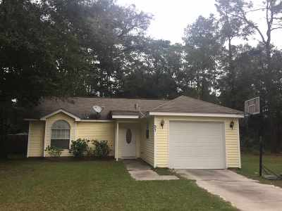 Crawfordville Single Family Home For Sale: 97 Melody