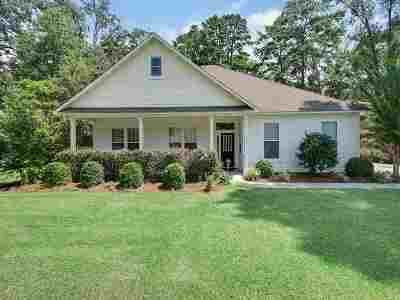 tallahassee Single Family Home Reduce Price: 1793 Benado Lomas Drive